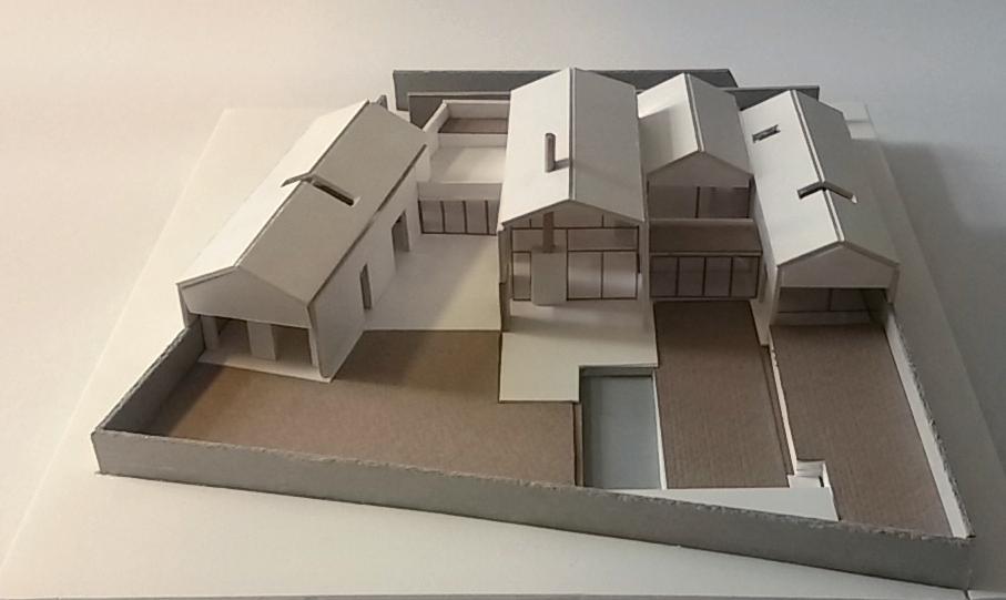 Proposta progettuale b casa a padiglioni 2016 antonio pelella architetto napoli - Progetto completo casa unifamiliare ...